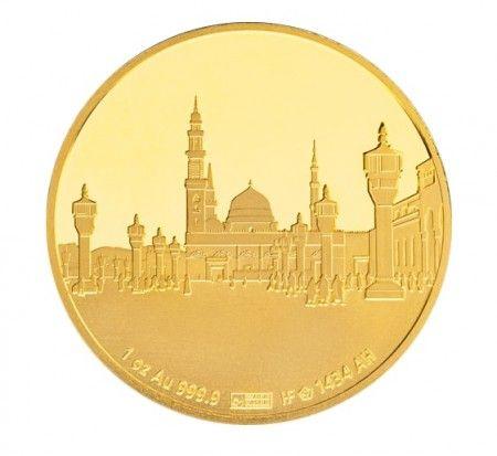 gold islamic coin 1 ounce medina buy online