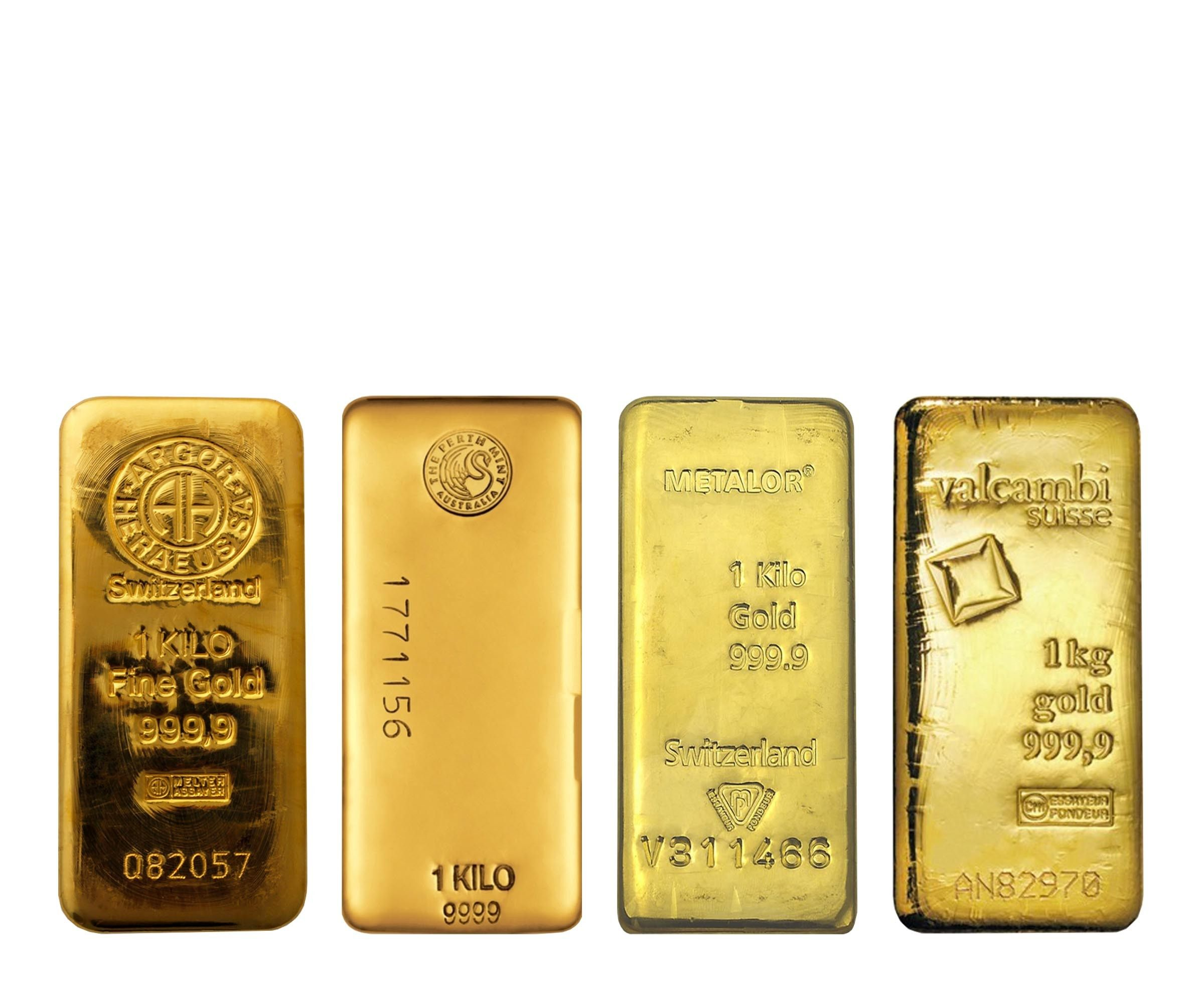 Buy 1 Kilo Gold Bar Lbma Various Mints In Singapore From