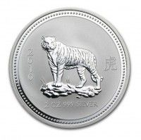 Buy 2oz Silver Perth Mint Year of Tiger 2010 Series (I) from Indigo