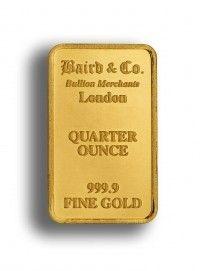 Buy Baird Gold bar 1/2 ounce online