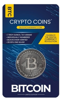 Buy 1 Toz Crypto Silver coin .999 Fine online