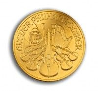 Philharmonic gold coin 1 ounce 2014 rear buy online