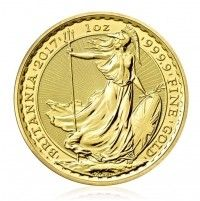 Britannia gold 1 ounce coin year 2016 front image