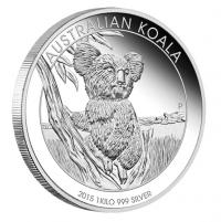 1 kilo silver KOALA coin | buy online with Indigo