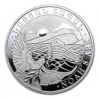 1 kilo silver Noah Ark Armenia coin, buy online with ipm group