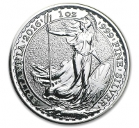 UK Britannia silver coin 2016 1 ounce buy online (Qty 20-500)