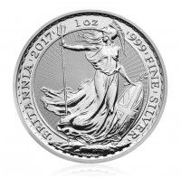 UK Britannia silver coin 1 ounce buy online in Singapore